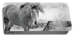 Horse In Infrared Portable Battery Charger