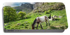 Horse On Balkan Mountain Portable Battery Charger