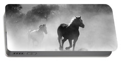 Horses On The Run Portable Battery Charger