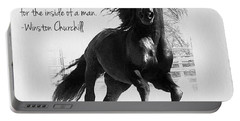 Horse's Profound Spirit  Portable Battery Charger