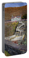 Hospital Steps At Llanberis Quarry  Portable Battery Charger