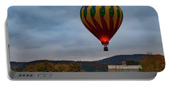 Hot Air Balloon At Woodstock Vermont Portable Battery Charger