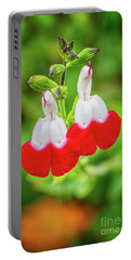 Hot Lips Flower Portable Battery Charger