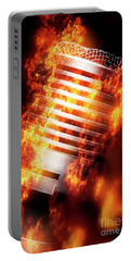 Hot Mic Portable Battery Charger