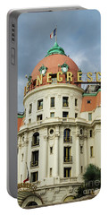 Hotel Negresco Nice France Portable Battery Charger