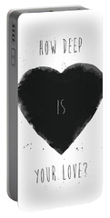 How Deep Is Your Love? Portable Battery Charger