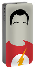 Sheldon Portrait Portable Battery Charger