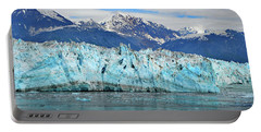 Hubbard Glacier Alaska Portable Battery Charger