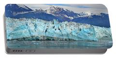 Hubbard Glacier Alaska Portable Battery Charger