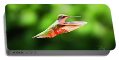 Hummingbird Flying Portable Battery Charger