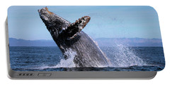 Humpback Breaching - 01 Portable Battery Charger