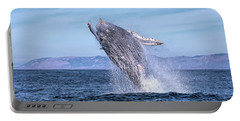 Humpback Breaching - 02 Portable Battery Charger
