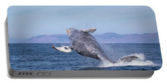 Humpback Breaching - 03 Portable Battery Charger