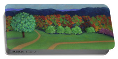 Hutchins Farm In Fall Portable Battery Charger