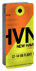 Hvn New Haven Luggage Tag I Portable Battery Charger