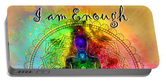 I Am Enough Kundalini Portable Battery Charger