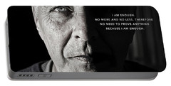 I Am Enough - Part 1 Portable Battery Charger