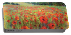 I Dream Of Poppies Portable Battery Charger