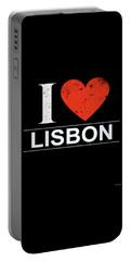 I Love Lisbon Portable Battery Charger