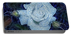 Ice Rose Portable Battery Charger