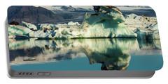 Iceberg, Jokulsarlon Portable Battery Charger