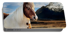 Icelandic Horse Portable Battery Charger