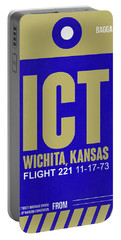 Ict Wichita Luggage Tag II Portable Battery Charger