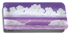 If The Sky Was Purple Portable Battery Charger