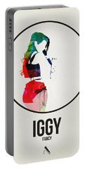 Iggy Azalea Watercolor Portable Battery Charger