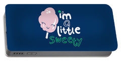 I'm A Little Sweety - Baby Room Nursery Art Poster Print Portable Battery Charger