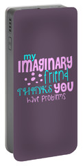 Imaginary Friend Portable Battery Charger