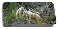 Idaho Mountain Goats Portable Battery Charger