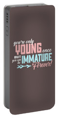 Immature Forever Portable Battery Charger
