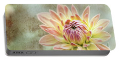 Portable Battery Charger featuring the photograph Impression Flower by Jessica Manelis