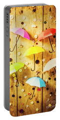 In Rainy Fashion Portable Battery Charger