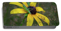 Portable Battery Charger featuring the photograph In The Meadow by Dale Kincaid