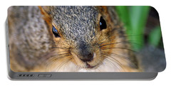In Your Face Fox Squirrel Portable Battery Charger