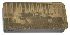 Inauguration Of Abraham Lincoln, March 4, 1861 Portable Battery Charger