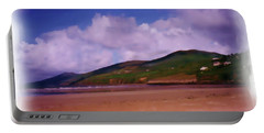 Inch Beach Painting Portable Battery Charger
