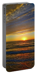 Portable Battery Charger featuring the photograph Incredible Sunrise Over The Atlantic Ocean by Lynn Bauer