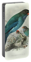 Indian Broad-billed Roller Portable Battery Charger