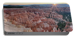 Inspiration Point Sunrise Bryce Canyon National Park Summer Solstice Portable Battery Charger