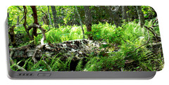 Into The Woods II Posterized Portable Battery Charger