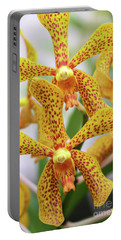 Intriguing Yellow Spider Orchids Portable Battery Charger