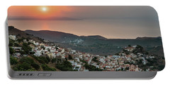 Ioulis Town Sunset, Kea Portable Battery Charger