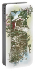 Iowa Covered Bridge Portable Battery Charger
