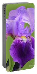 Iris-black Beauty Portable Battery Charger