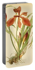 Iris Cuprea Copper Iris.  Portable Battery Charger