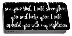 Isaiah 4110 Bible Portable Battery Charger