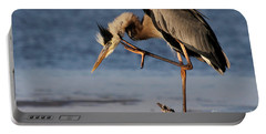 Itchy - Great Blue Heron Portable Battery Charger